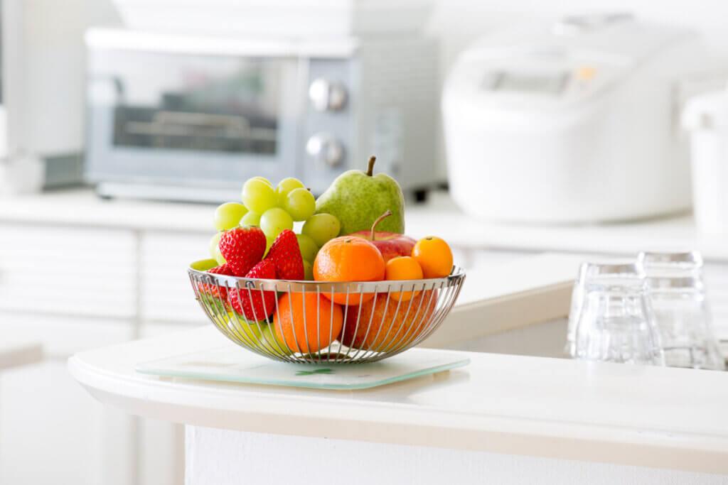 Estanterías para colocar la fruta: tipos y formatos