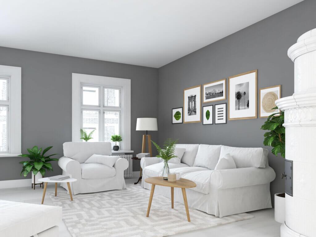 La aplicación de los tonos oscuros en el hogar