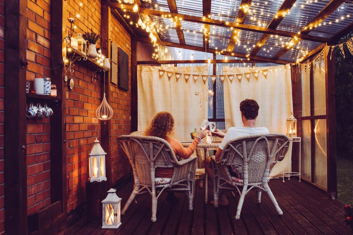 Os terraços também seguem tendências