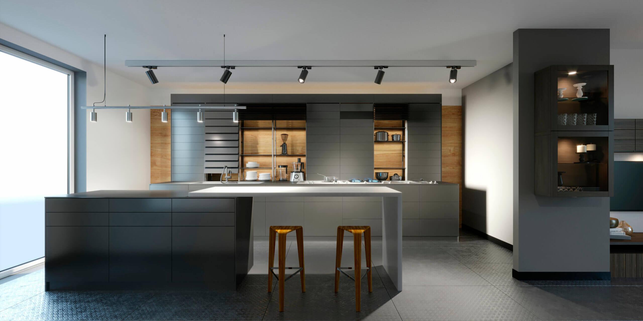 Cocina panelada o vista, ¿tú de qué equipo eres?