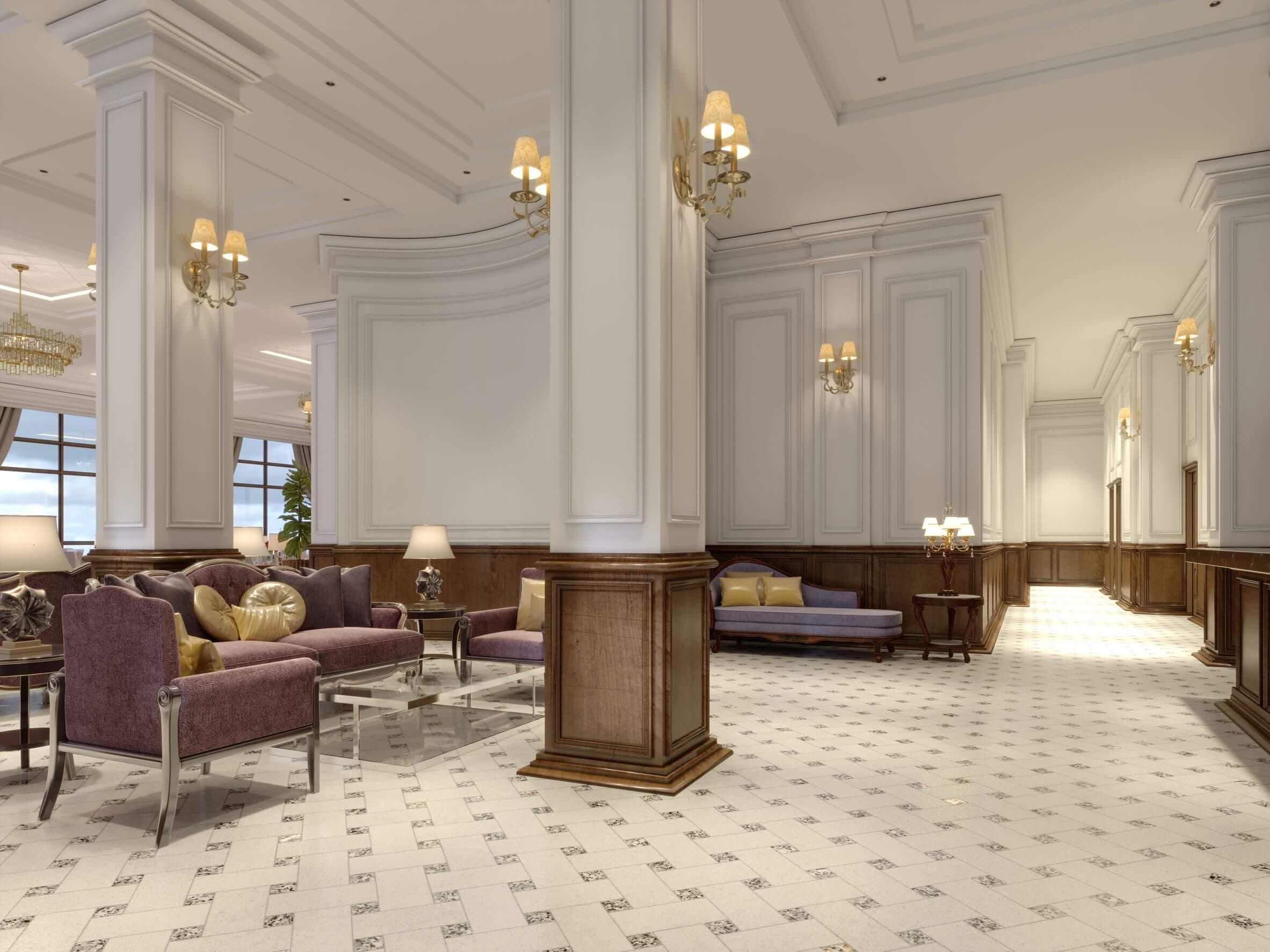 5 tipos de columnas para la decoración de interiores