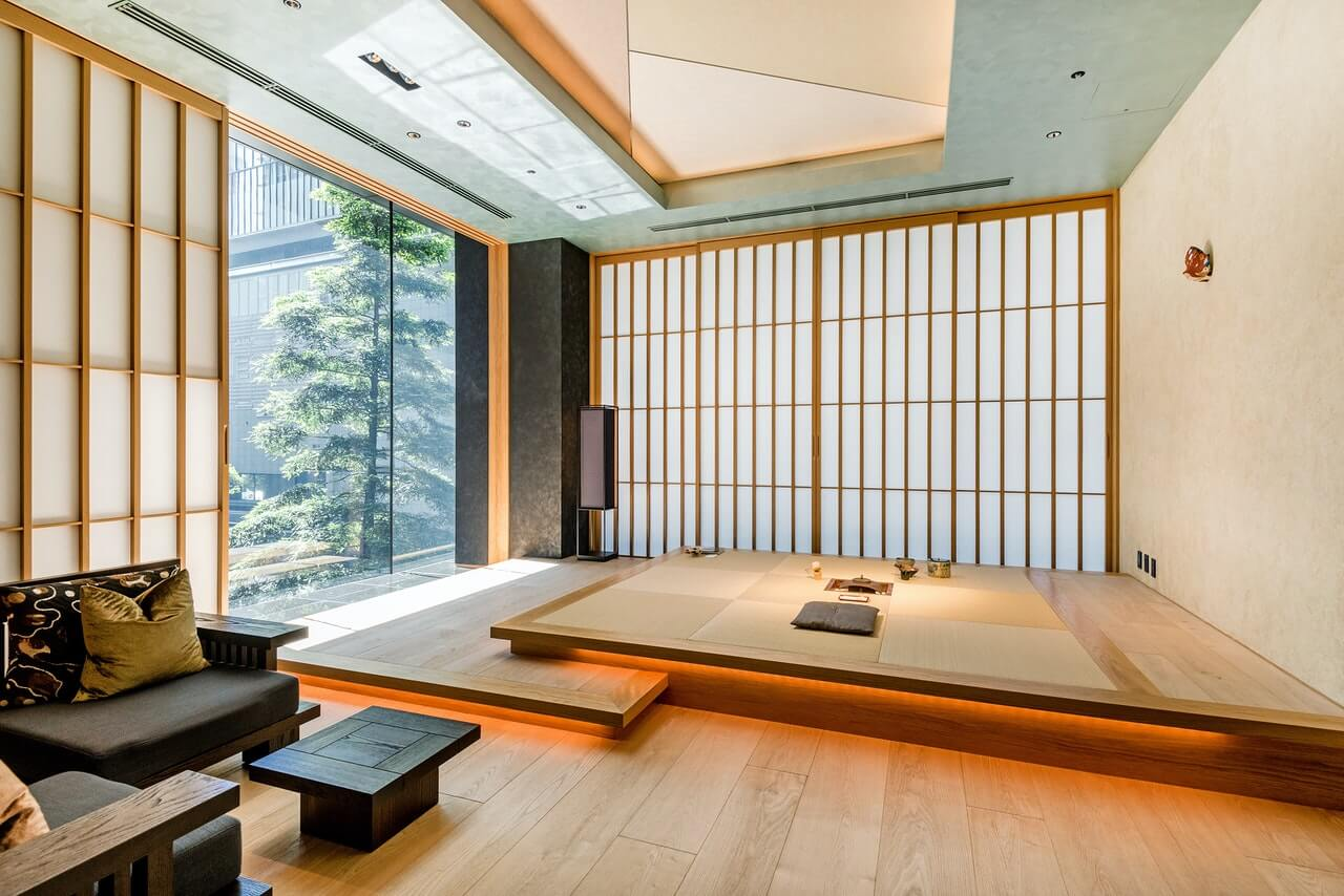 Principais recursos decorativos do estilo japonês
