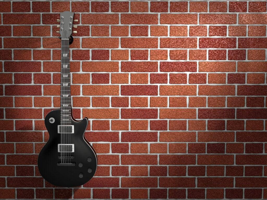 El estilo decorativo para las leyendas del rock