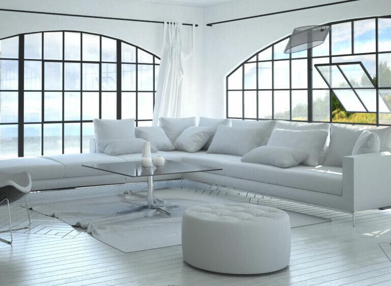 5 tipos de mesas de cristal para el salón