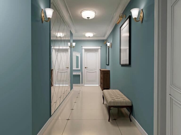 6 Ideas para decorar un pasillo largo
