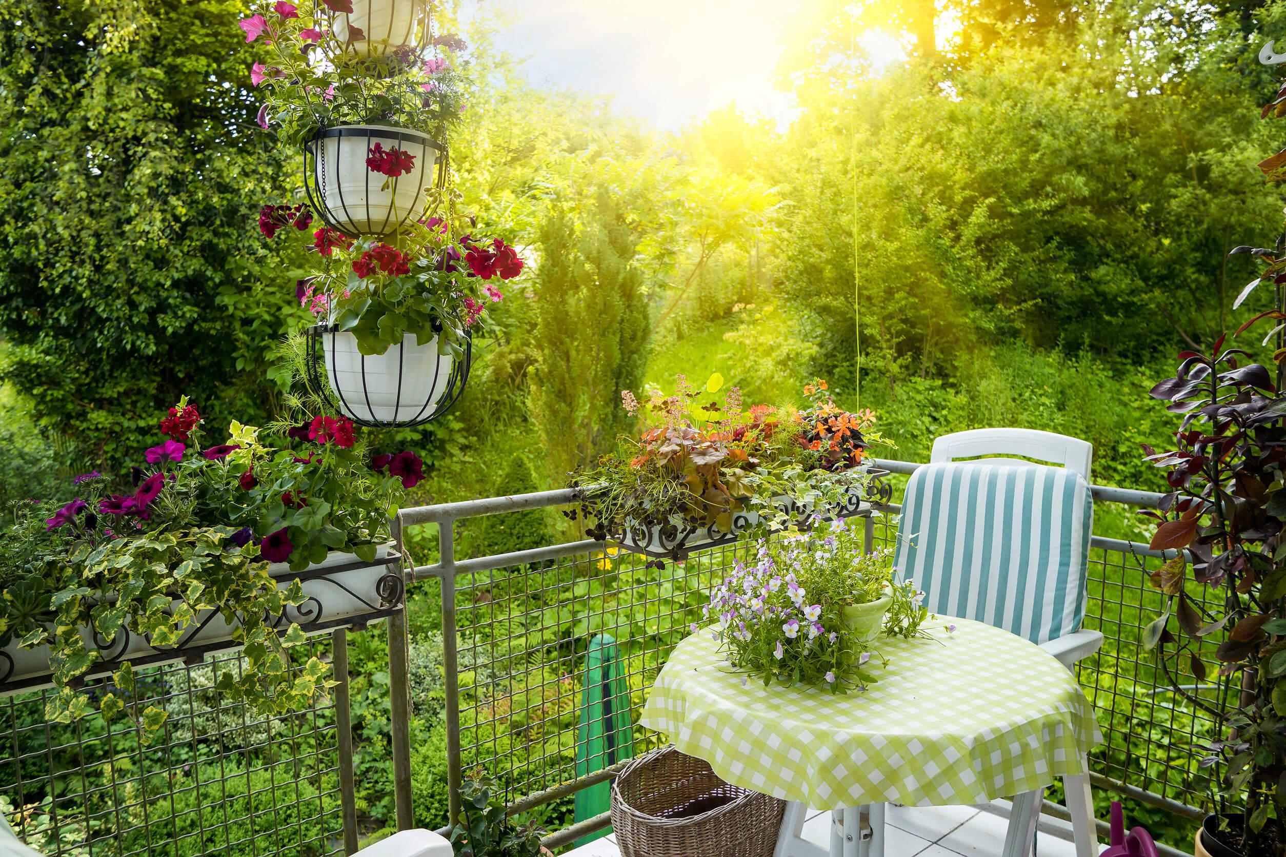 Cómo decorar tu balcón y disfrutar de la primavera