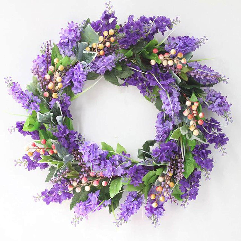 Decora con coronas florales, una tendencia muy romántica