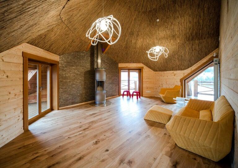 Revestimientos de madera para las paredes