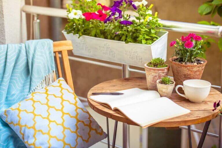 Ideas para decorar una terraza pequeña