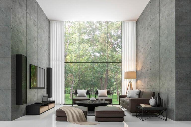 6 consejos para decorar un salón rectangular