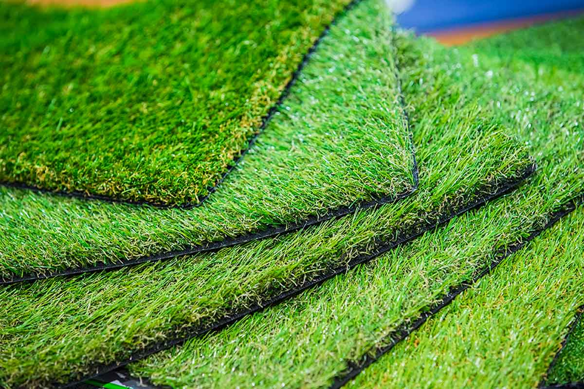 Artificial grass is friendly to the environment.