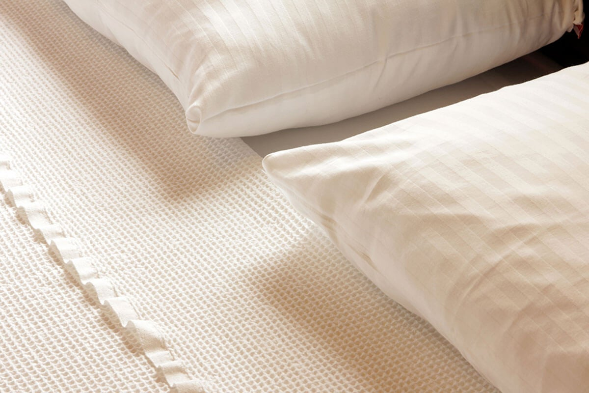 The material of the sheets is very important.