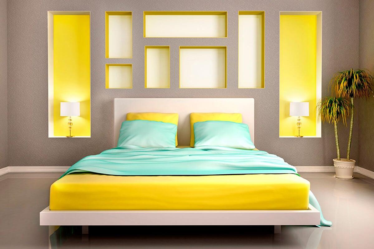 Cuida los colores del dormitorio.