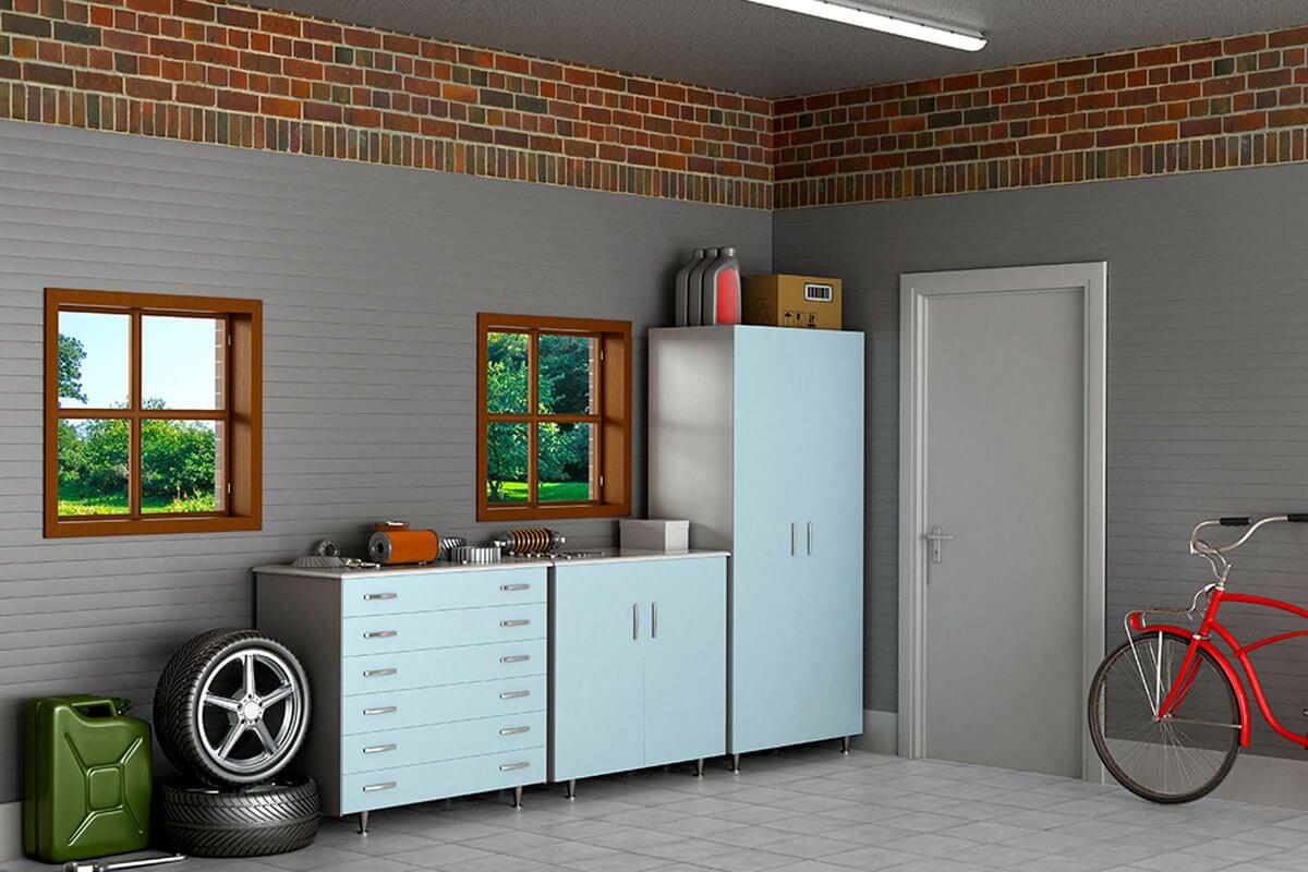 Aprovechar tu garaje organizando los espacios.