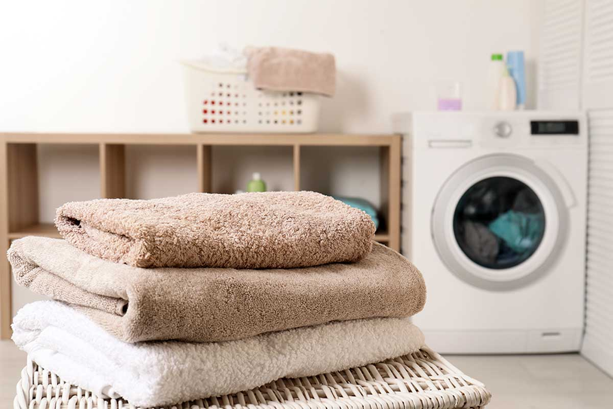 Tips for caring for towels.