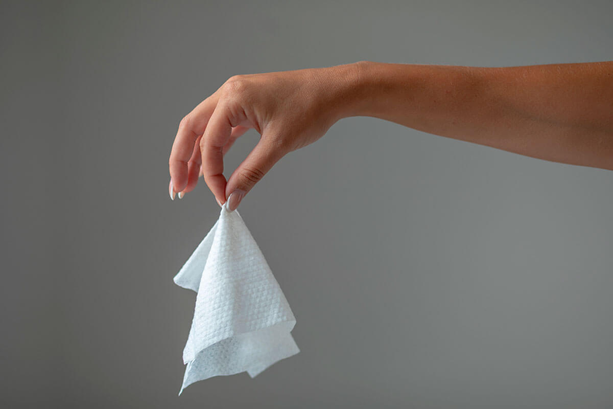 Wet wipes are very harmful.