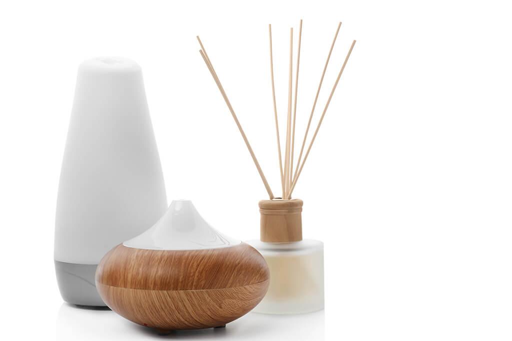 Difusores de aroma: tipos y características