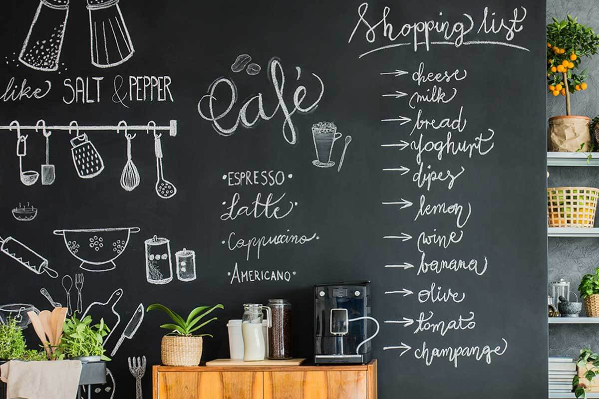 Personaliza tu estación de café.
