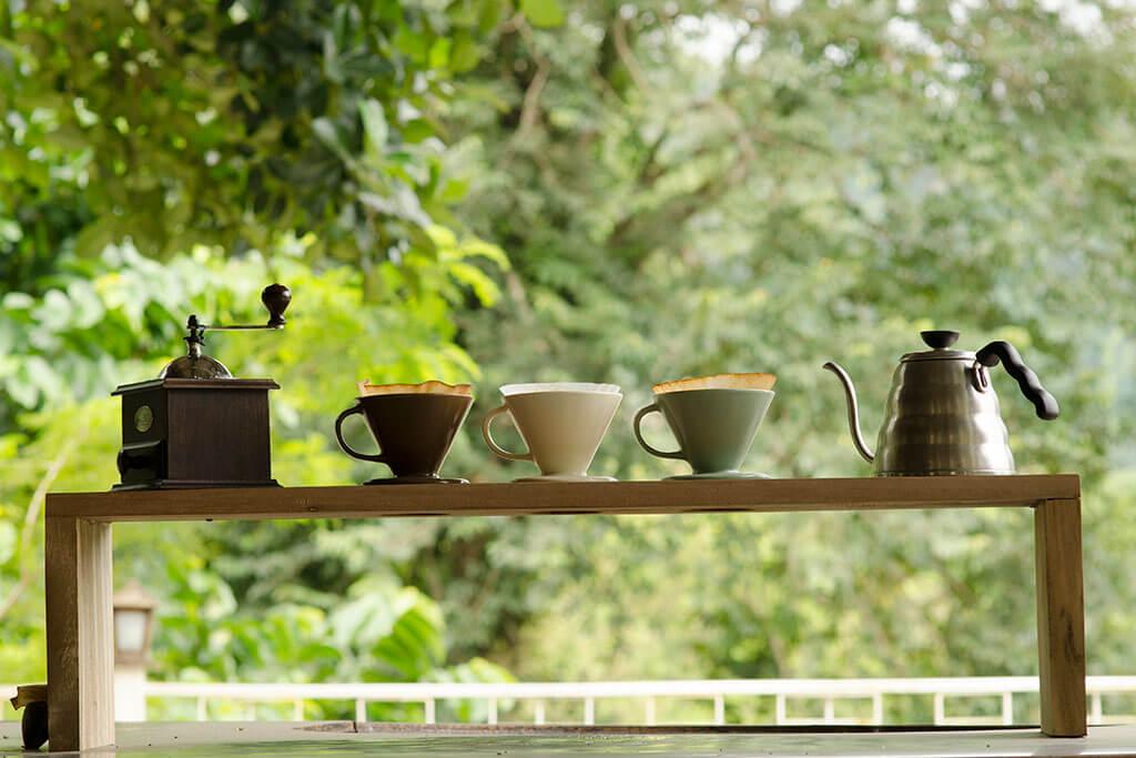 Instala tu propia estación de café en casa