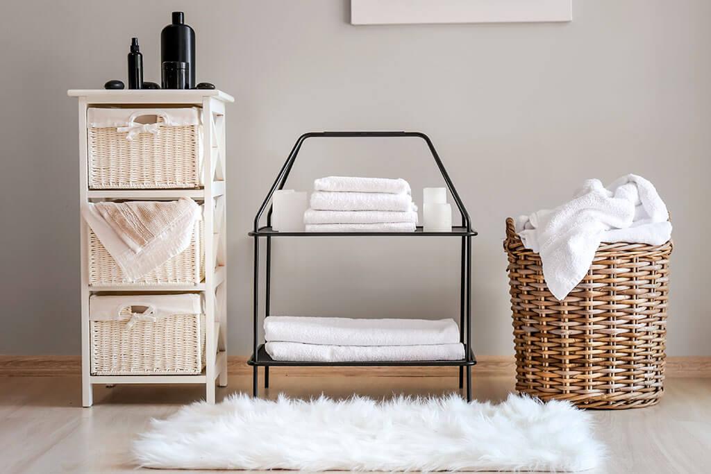 Consejos para guardar las toallas y evitar errores