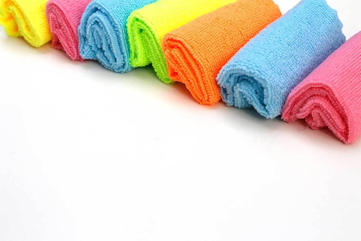 Clasifica tus toallas.