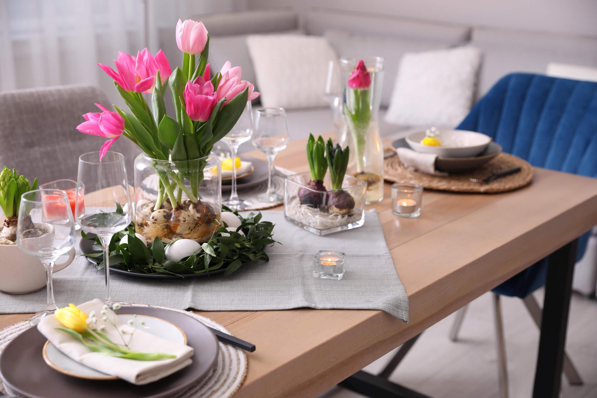 Cómo decorar tu mesa de verano