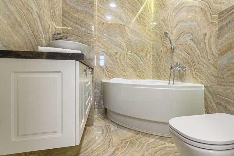 Ventajas de las bañeras angulares