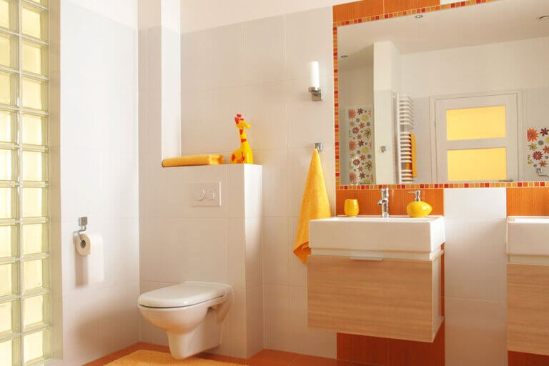 Colores que el feng shui recomienda para el baño