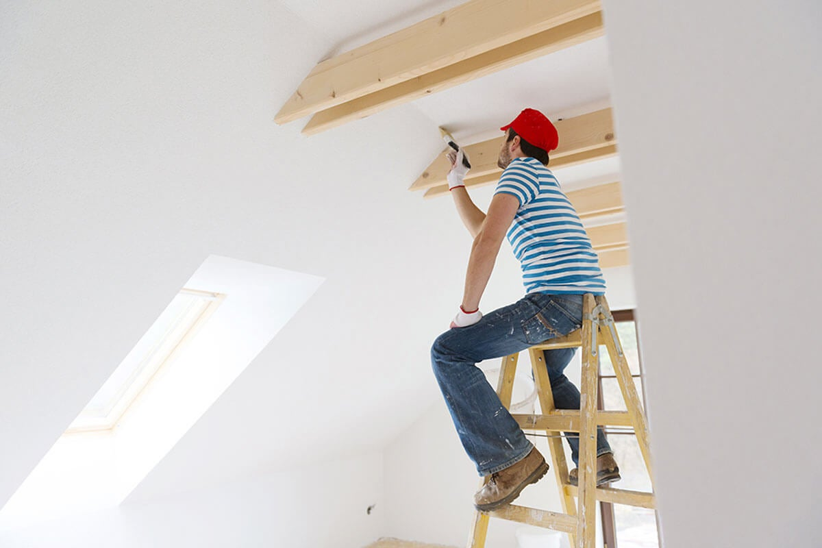 Choosing a professional painter is important.