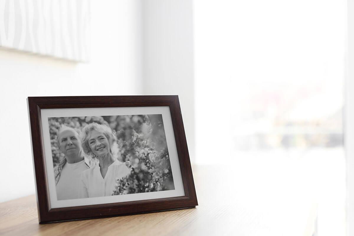 Family photographs bring good luck.