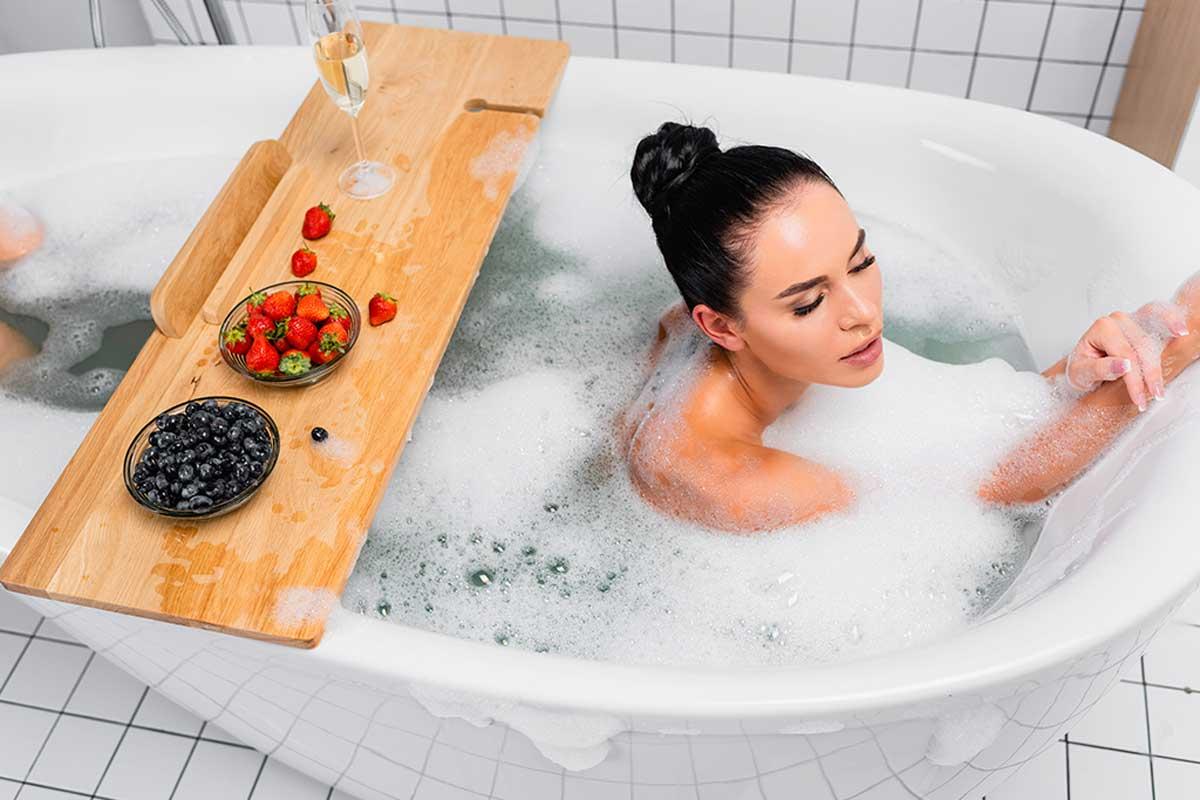 Baño de relajación.