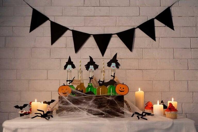 Crea tu propio candy bar para encantar en Halloween