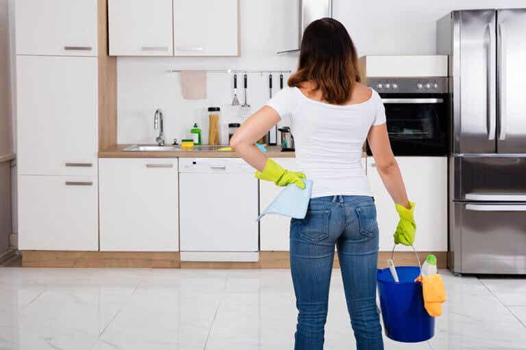 Cómo limpiar tu cocina a fondo