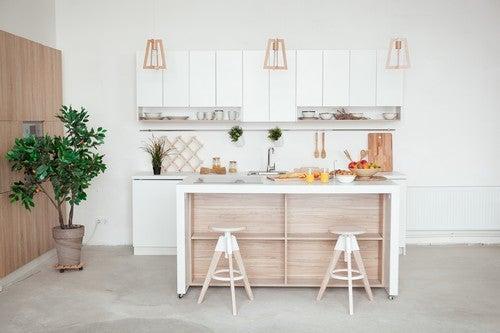 4 idee di cucine per piccoli appartamenti