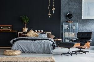 Cesto in vimini per sfruttare spazio nella vostra camera da letto