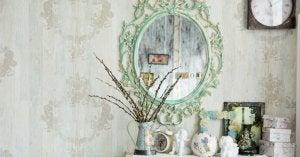 Elementi decorativi vecchi o riciclati