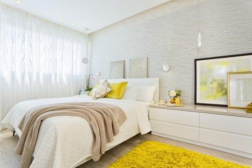 Camera da letto in stile Feng Shui