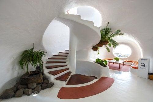 Decorare la casa in stile César Manrique