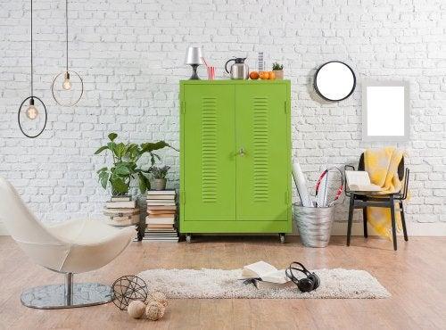 3 suggerimenti per arredare con mobili colorati
