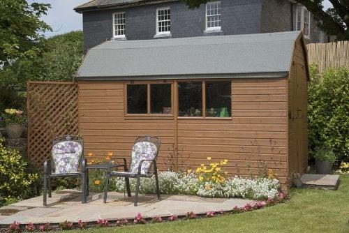 Casetta da giardino: 4 pratici utilizzi