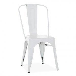 sedia tolix bianca