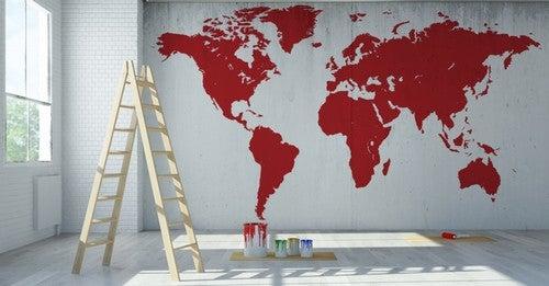 Consigli e idee per decorare la vostra casa con le mappe