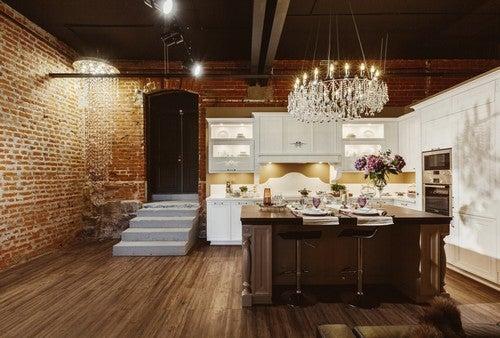 Cucina in stile Jazz Club