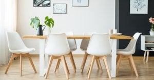 Scegliere correttamente le sedie per la sala da pranzo.