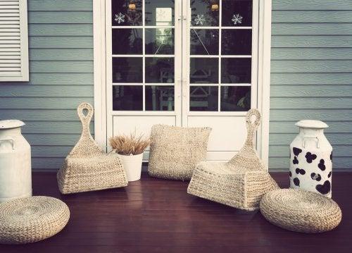 2 idee per le sedie da esterni della vostra casa