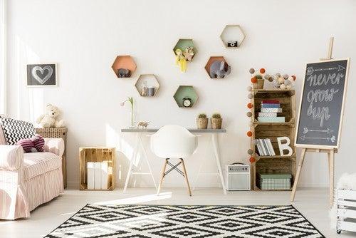 5 idee per le pareti delle stanze dei bambini
