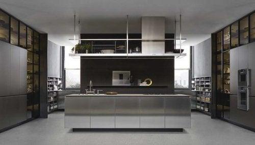 Scegliere la cucina di tipo industriale