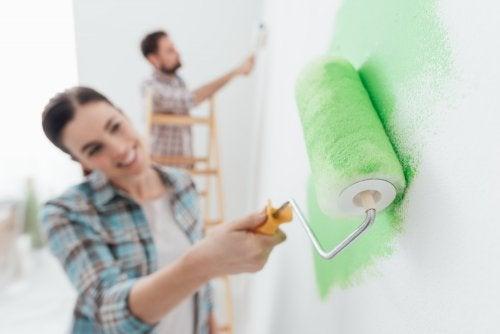 5 consigli da seguire prima di imbiancare le pareti della vostra casa