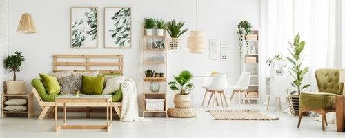 Elementi naturali all'interno dello stile Slow Design