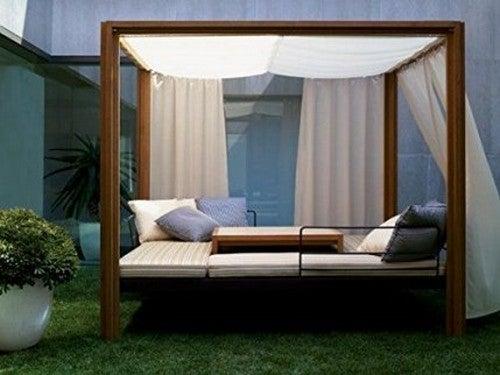 I letti balinesi ideali per la vostra terrazza